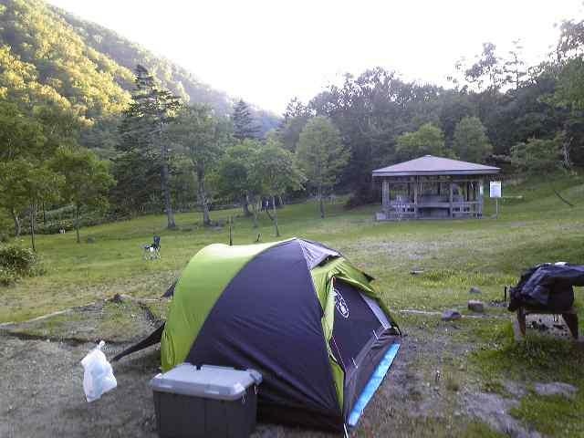 羅臼国設野営キャンプ場