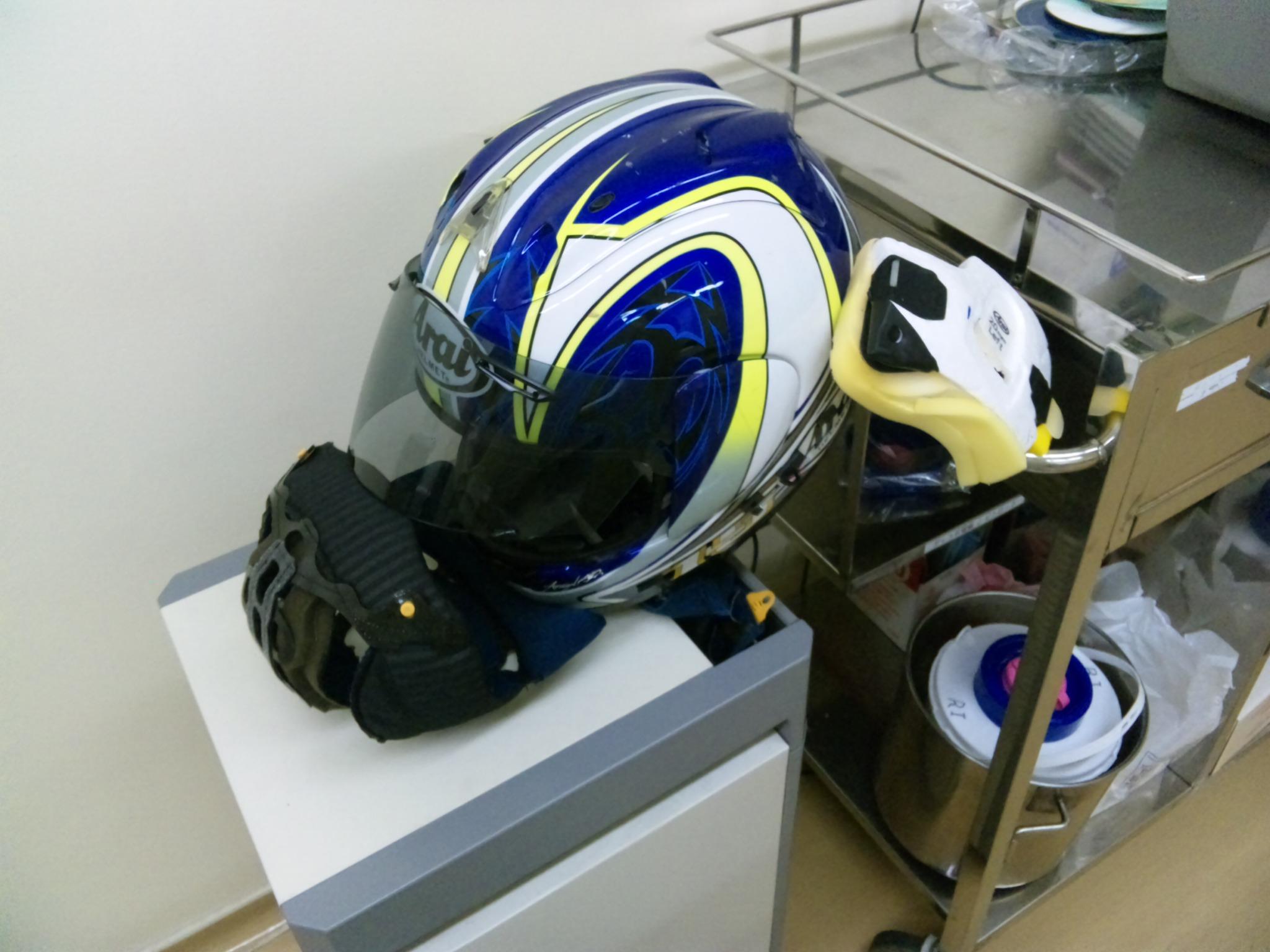 アライヘルメットの洗浄