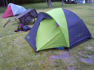 若洲キャンプ場で週末キャンプ