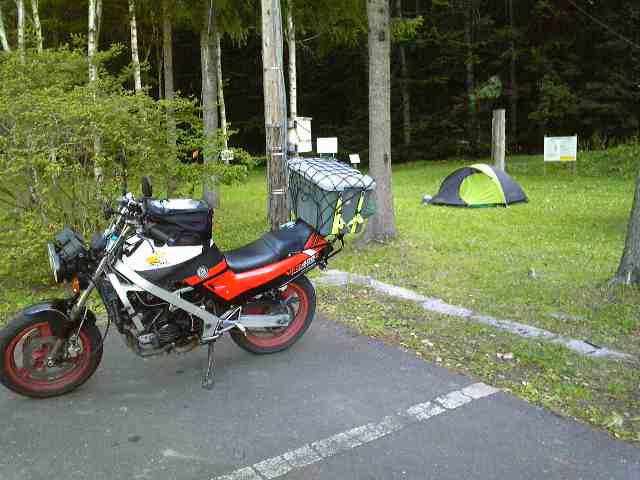 久しぶりの晴天キャンプ
